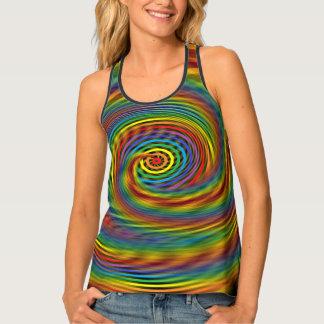 Cosmic Swirl Tank Top