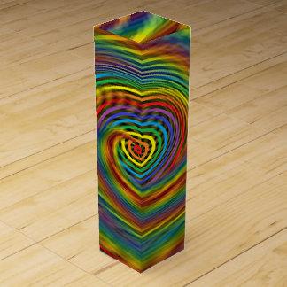 Cosmic Swirl Wine Gift Box