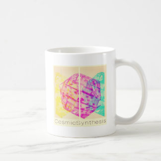 Cosmic Synthesis - The year of synergy and rebirth Basic White Mug