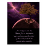 Cosmic Tree of Life Post Card