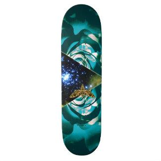 Cosmic Triangle Design Skateboard