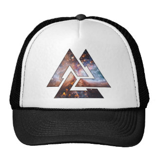 Cosmic Triangles Mesh Hats