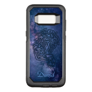 Cosmic Tribal Horse OtterBox Commuter Samsung Galaxy S8 Case