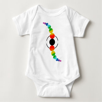 Cosmic Twist. Baby Bodysuit