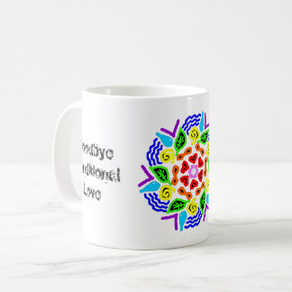 """Cosmic Unconditional Love Starts from Within"" Mug"