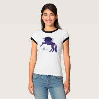 Cosmic Unicorn Ringer Tee