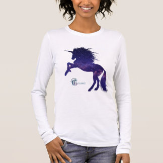 Cosmic Unicorn Women's Long-Sleeve Tee