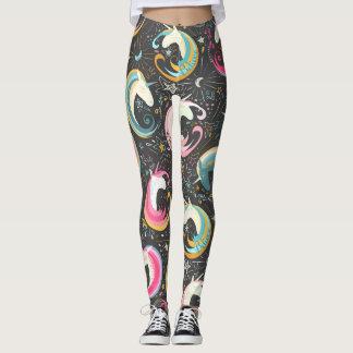 "Cosmic Unicorns ""Dream, Believe..."" Leggings"