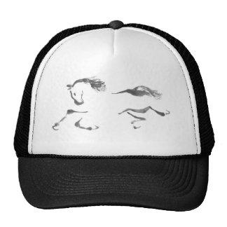 Cosmic Wanderer Sumi-e Year of the Horse Trucker Hats