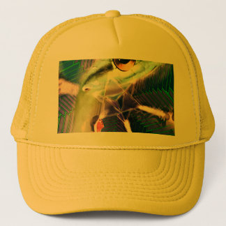 Cosmic wavelength of intention trucker hat