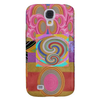 COSMIC WAVES MULTIPLE  Images : Collage Selections Samsung Galaxy S4 Cover