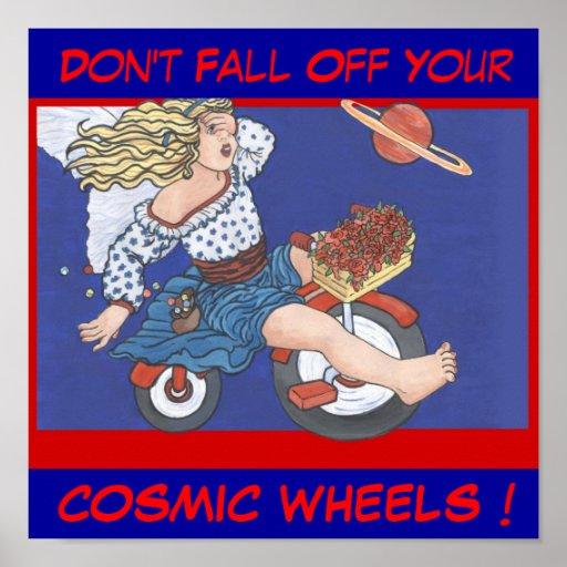 Cosmic Wheels Posters