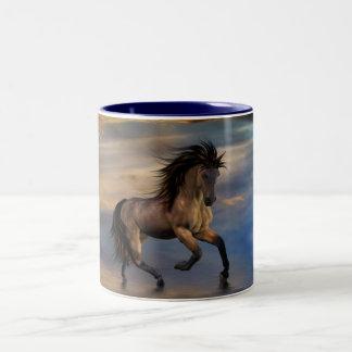 Cosmic .. wild stallion coffee mugs