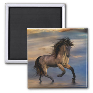 Cosmic .. wild stallion refrigerator magnets