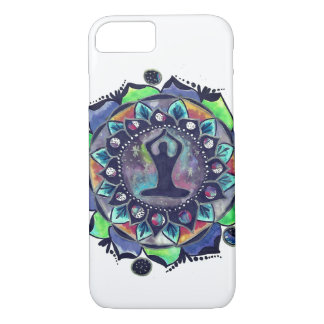 Cosmic Yoga Moon Phases iPhone 8/7 Case