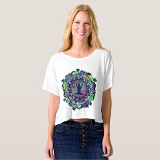 Cosmic Yoga Moon Phases T-Shirt