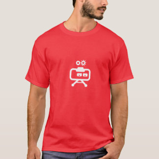 Cosmicity Logobot Red T T-Shirt