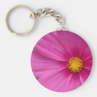 Cosmo Basic Round Button Key Ring