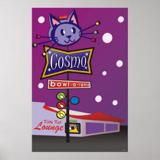 Cosmo Bowl-A-Rama Sign