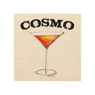 Cosmo Cosmopolitan Cocktail Mixed Drink Bar Decor