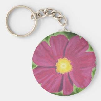 Cosmo Flower Keychain