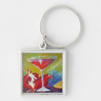 Cosmo & Red Pomegranate Key Chain