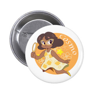 Cosmo The Space Detective 6 Cm Round Badge