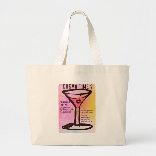 COSMO TIME PRINT with RECIPE by Jill Bags