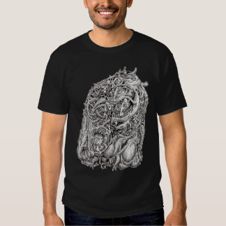 Cosmographic Head, by Brian Benson Tee Shirts