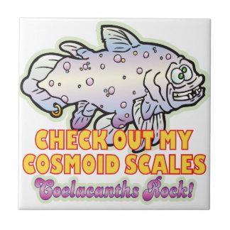 Cosmoid Coelacanth Tiles