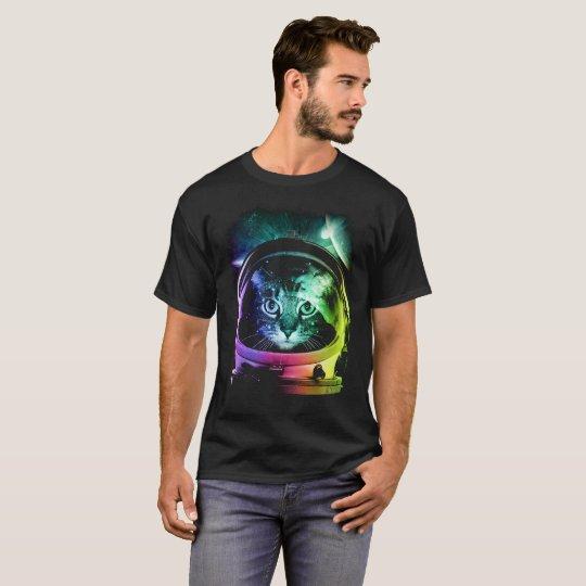 Cosmonaut Cat T-Shirt