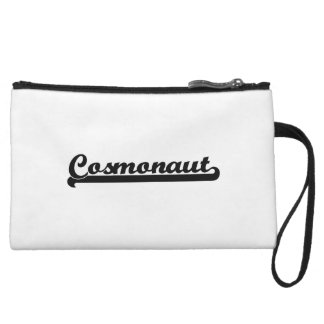Cosmonaut Classic Job Design Wristlet Purse