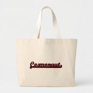 Cosmonaut Classic Job Design Jumbo Tote Bag
