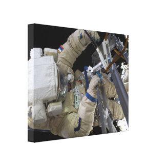 Cosmonaut Spacewalk 2011 Gallery Wrap Canvas