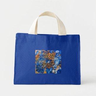 Cosmoparticle Mini Tote Bag