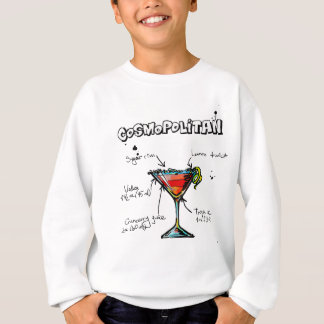 Cosmopolitan Cocktail Recipe Sweatshirt