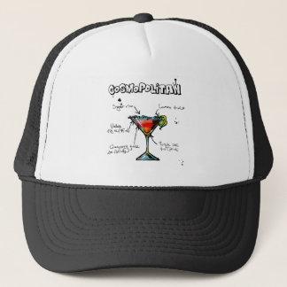 Cosmopolitan Cocktail Recipe Trucker Hat
