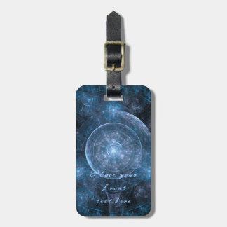 Cosmos Background 001 Luggage Tag