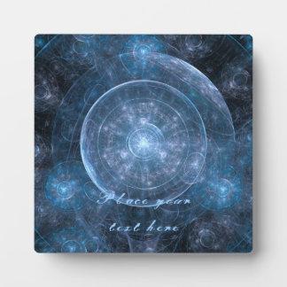 Cosmos Background 001 Plaque
