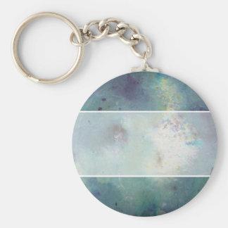 Cosmos. Basic Round Button Key Ring