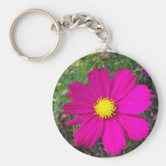cosmos basic round button key ring