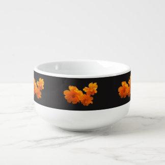 Cosmos Charm Black/White Soup Mug