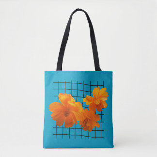 Cosmos Charm Tote Bag
