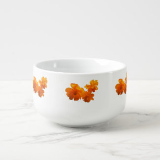 Cosmos Charm White Soup Mug