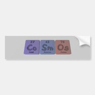 Cosmos-Co-Sm-Os-Cobalt-Samarium-Osmium.png Bumper Sticker