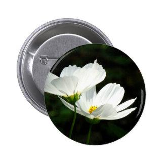 Cosmos Daisy Flowers Pin