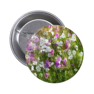 Cosmos Dancing in the Wind Gifts 6 Cm Round Badge