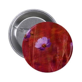 Cosmos Flower Gifts 6 Cm Round Badge