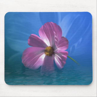 Cosmos Flower Mouse Pad