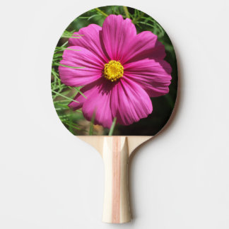 Cosmos Flower Ping Pong Paddle